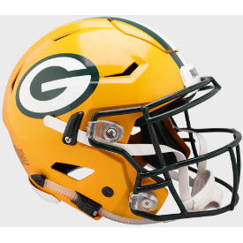 Green Bay Packers Authentic Speed Flex Football Helmet