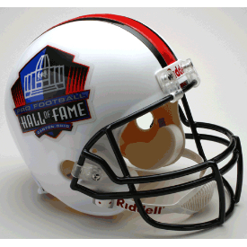 NFL Hall of Fame Full Size Replica Football Helmet