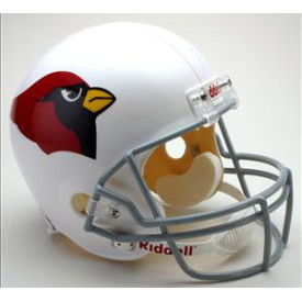 Saint Louis Cardinals 1960 to 2004 Full Size Replica Throwback Helmet