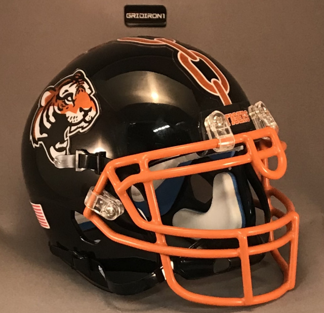 GFH Chicago Tigers 2019 Gloss Black Chrome Decals