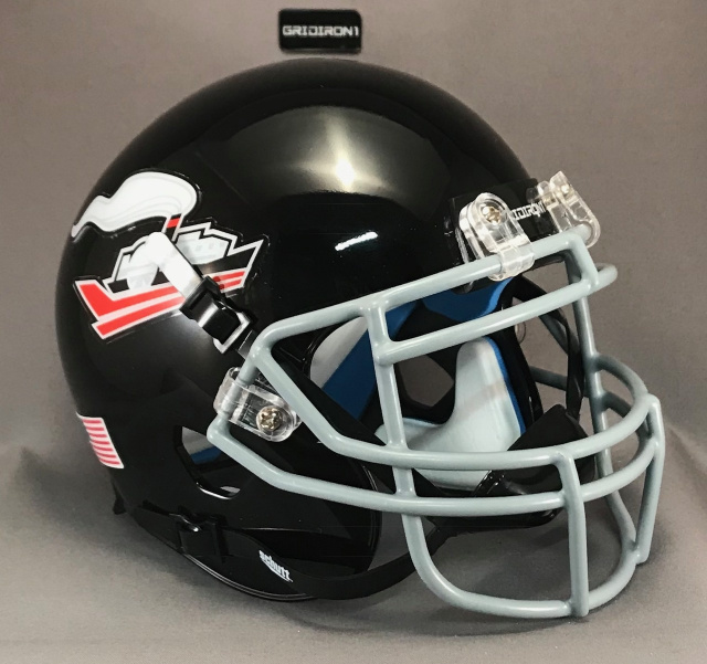 Memphis Steamers mini football helmet 2018