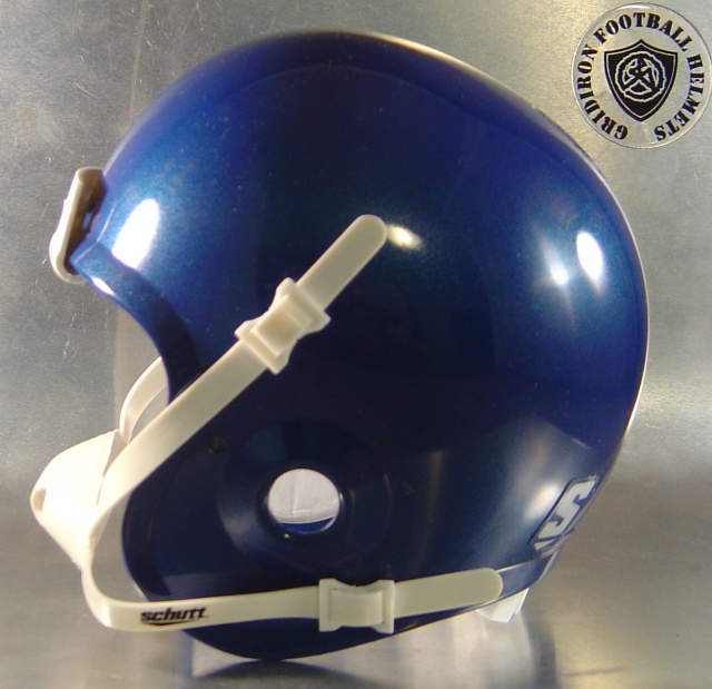 Metallic Royal Schutt Mini Football Helmet Shell (Sold out)