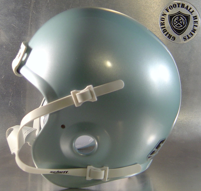 Dallas Silver Schutt Mini Football Helmet Shell