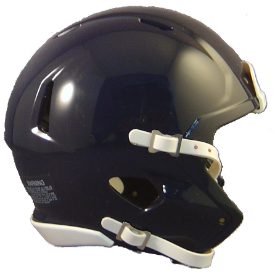 Riddell Speed Blank Mini Football Helmet Shell Navy