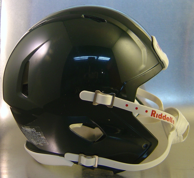 Riddell Speed Blank Mini Football Helmet Shell Forest