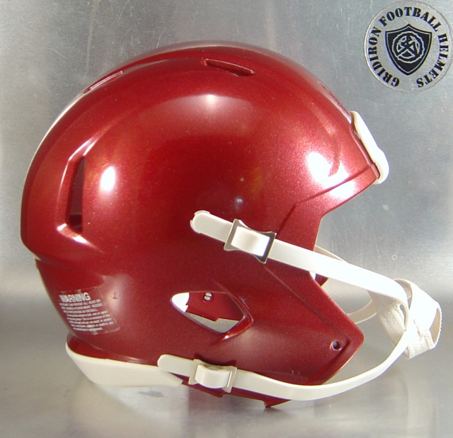 Riddell Speed Blank Mini Football Helmet Shell Metallic Maroon (sold out)