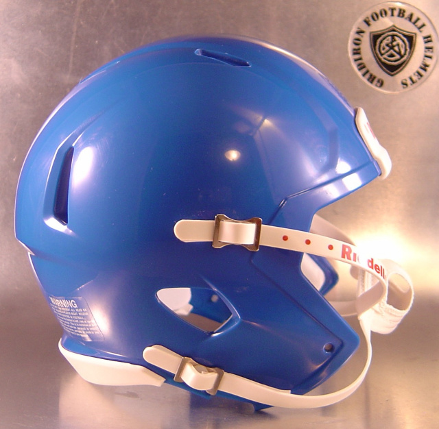 Riddell Speed Blank Mini Football Helmet Shell Royal