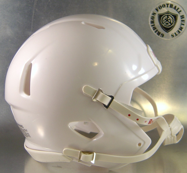 Riddell Speed Blank Mini Football Helmet Shell White
