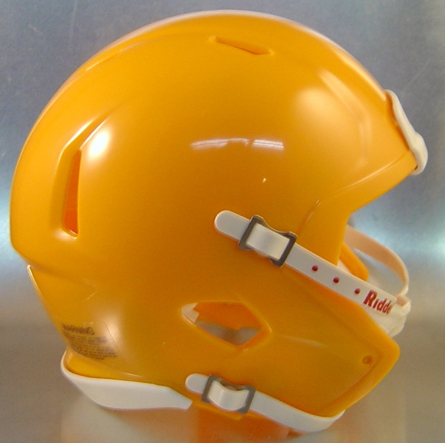 Riddell Speed Blank Mini Football Helmet Shell Yellow