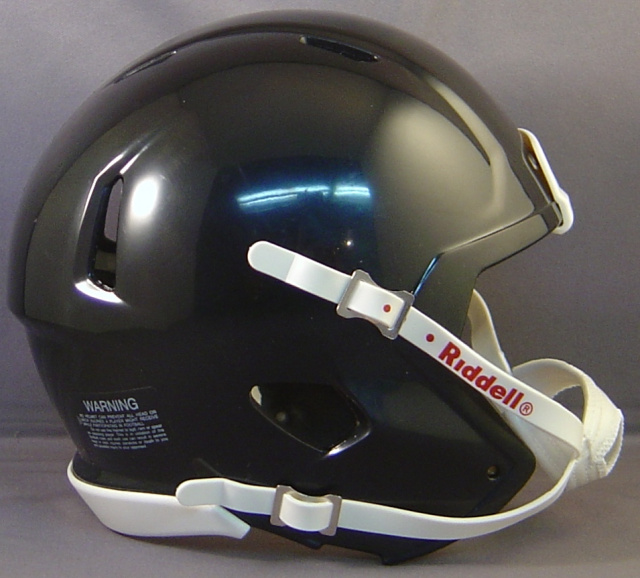 Riddell Speed Blank Mini Football Helmet Shell Black