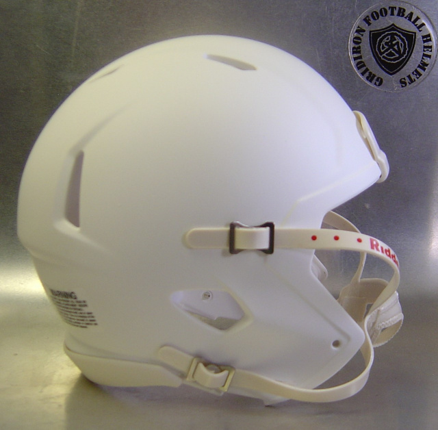 Riddell Speed Mini Helmet Shell Matte White