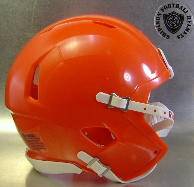 Riddell Speed Blank Mini Football Helmet Shell Orange (like Florida Gators Football Helmet)