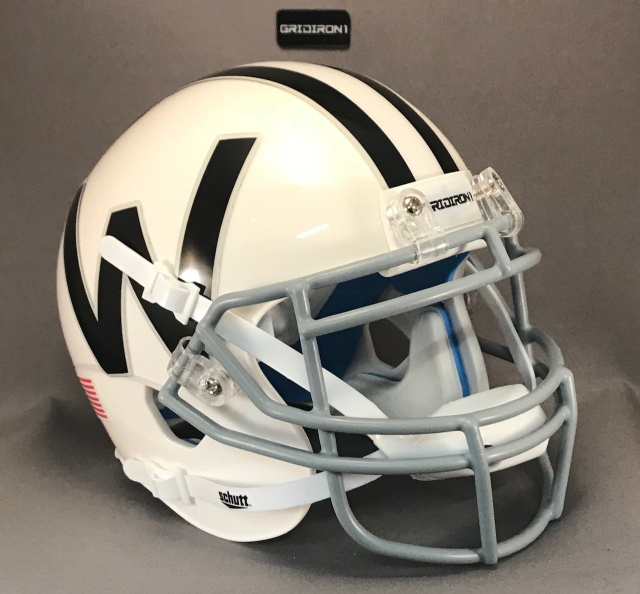 CHICAGO WINDS 1975 first 4 games mini football helmet