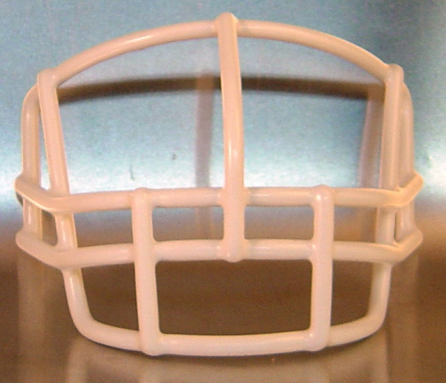 Throwback Lineman Facemask '1970's-1980's (facemask clips not included)