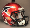 Memphis Express Riddell Speed mini helmets