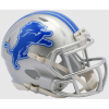 Detroit Lions NFL Mini Speed Football Helmet NEW 2017