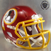 Washington Redskins Mini Speed Football Helmet 2013