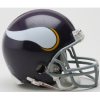 Minnesota Vikings 1961 to 1979 Riddell VSR4 mini football helmet