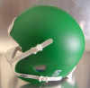 Matte Kelly Green Schutt XP Mini Football Helmet Shell